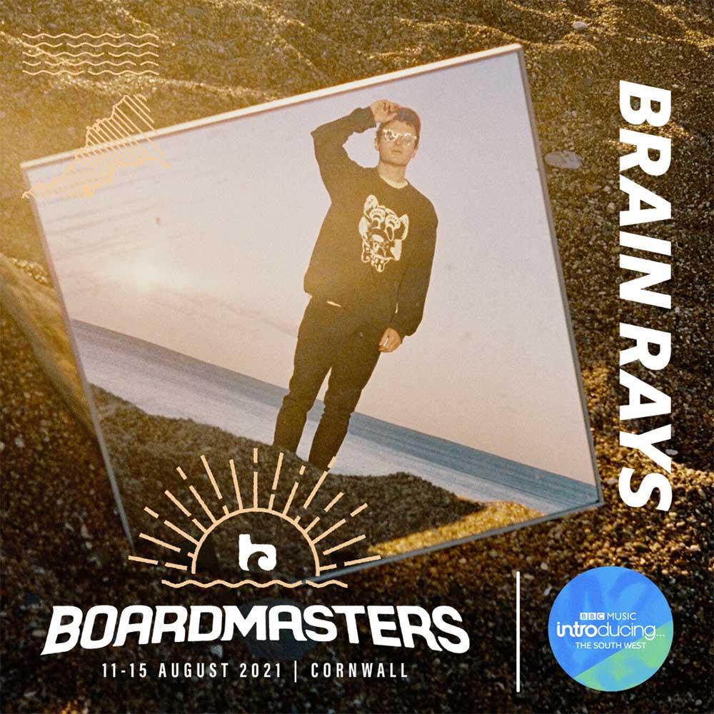 Brain Rays live at Boardmasters 2021
